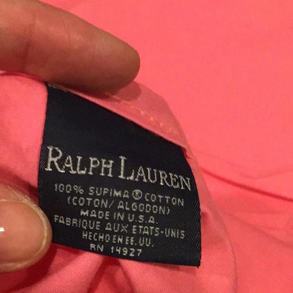 Ralph Lauren pink sheet